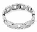 Stainless Steel Thick Link Bracelet