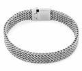 Stainless Steel Thin Wheat Chain Bracelet