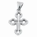 Sterling Silver Antique Cross Pendant