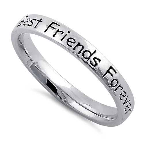 Sterling Silver Best Friends Forever Ring