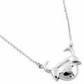 Sterling Silver Taurus Necklace