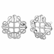Sterling Silver Celtic Earrings