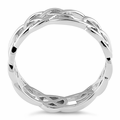 Sterling Silver Celtic Pattern Ring