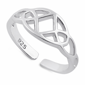 Sterling Silver Celtic Toe Ring