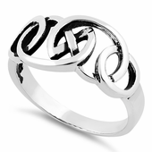 Sterling Silver Celtic Unique Ring