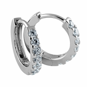 Sterling Silver Clear CZ Earrings