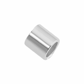 Sterling Silver Crimp 2.0mmOD - 2mm - PACK OF 50