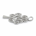 Sterling Silver Curly Tree of Life Pendant