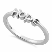 "Sterling Silver ""Hope"" Ring"