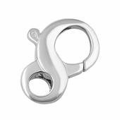 Sterling Silver Infinity Clasp 20mm