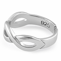 Sterling Silver Infinity Sign Toe Ring