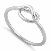 Sterling Silver Knot Ring