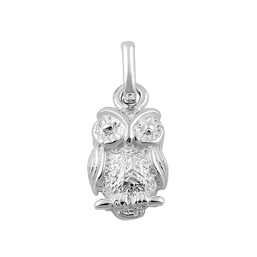 Sterling silver owl pendant mozeypictures Image collections