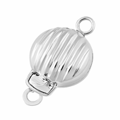 Sterling Silver Pearl Clasp 8mm