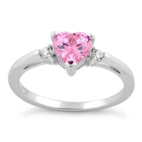 Sterling Silver Pink Heart Cz Ring. Tiffany Soleste Wedding Rings. Scalloped Engagement Rings. Joint Engagement Wedding Rings. Canary Engagement Rings. 3d Printed Wedding Rings. Love Loyalty Rings. Ring Lamar Engagement Rings. Free Motion Quilting Wedding Rings