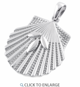 Sterling Silver Seashell Pendant