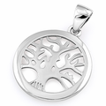 Sterling Silver Small Tree of Life Pendant