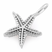Sterling Silver Starfish Pendant