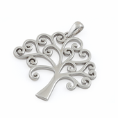 Sterling Silver Storybook Tree of Life Pendant