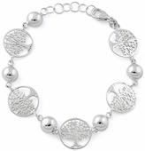 Sterling Silver Tree of Life Bracelet