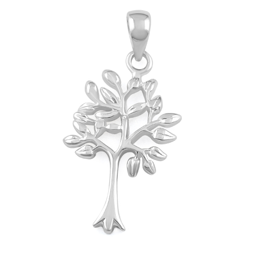 Silver tree of life pendant sterling silver tree of life pendant mozeypictures Gallery