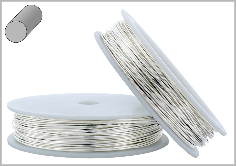 Sterling silver wire round soft 14ga 1oz approx greentooth Gallery