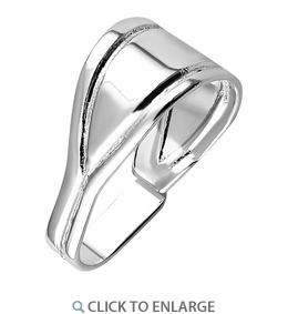 Sterling Silver Y Shape Bail - PACK OF 6
