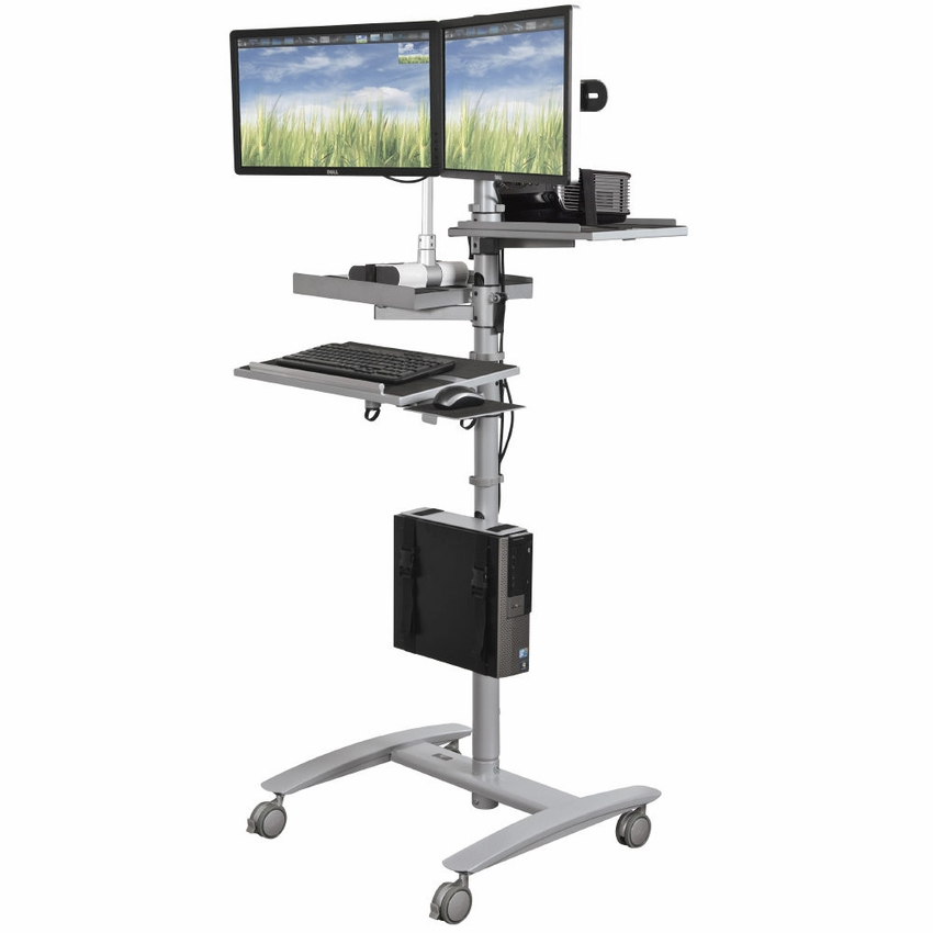 beta cart optional document camera shelf With document camera cart