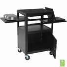 Dual Adjustable Laptop Cart