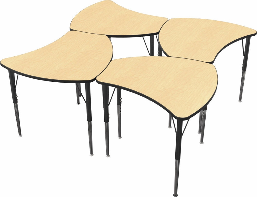 student desk system uxl sit sitstand stand classroom desks smith furniture