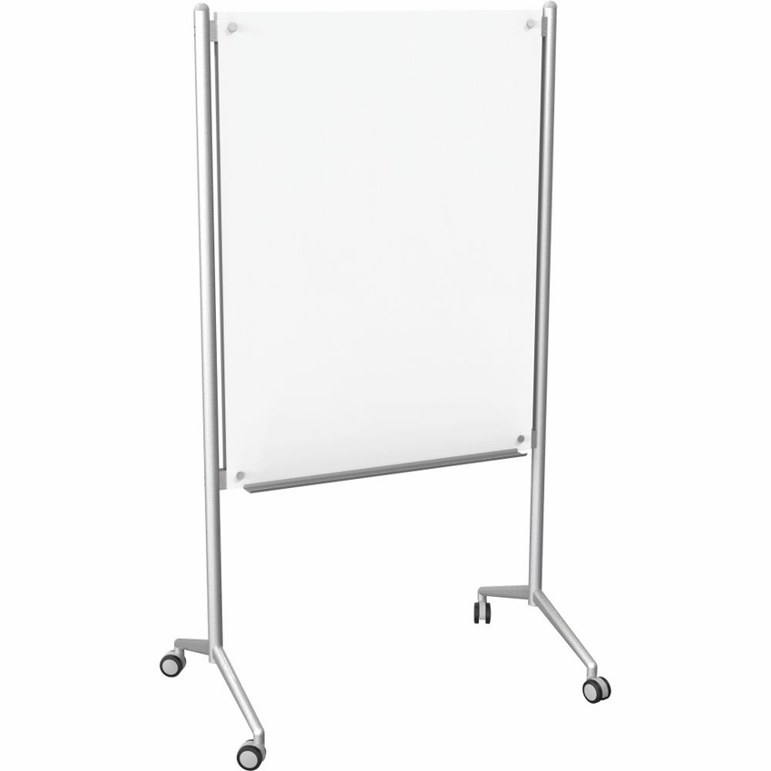 enlighten mobile glass dry erase whiteboard magnetic black board set best on wheels