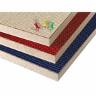 Fabric Covered Cork Plate Panels - Unframed  4'H x 6'W