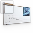 Framed Magnetic Glass Dry Erase Whiteboard