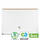 Green-Rite Markerboard with Deluxe Aluminum Trim 4' H x 5' W