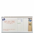 Horizontal Sliding Markerboard 4'H x 12'W 4Track/4Panel