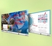 """Interactive Touch Displays 84"""" 10-Point Touch Display"""