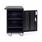 Luxor 30 Capacity Tablet/Chromebook Charging cart w/keypad lock