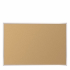 Natural Add-Cork Tackboard -Aluminum Trim 4'H x 10'W