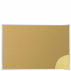 Natural Add-Cork Tackboards - Aluminum Trim