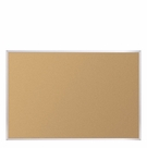 Natural Cork-Plate Tackboard - Aluminum Trim