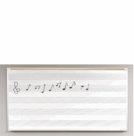 Porcelain Steel Music Line Boards