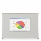 Projection Plus Multimedia Dry Erase Markerboard 4'H x 4'W