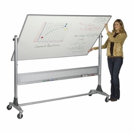 reversible rolling whiteboards dry erase boards