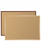 Valu-Tak Tackboards - Solid Wood Trim
