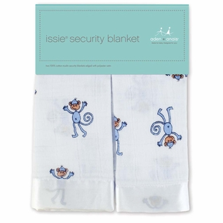Aden + Anais Classic Issie Security Blanket 2 Pack - Monkey