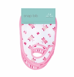 SOLD OUT Aden + Anais Classic Snap Bibs 3 Pack - Princess Posie