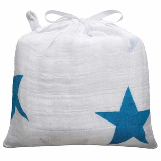 SOLD OUT Aden + Anais Classic Swaddle Single Pack - Twinkle Blue