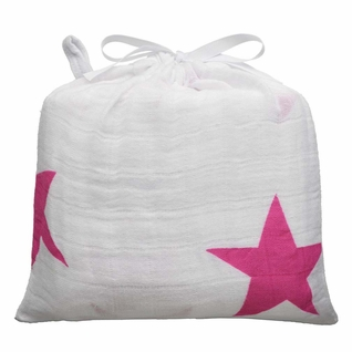 SOLD OUT Aden + Anais Classic Swaddle Single Pack - Twinkle Pink