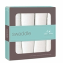 SOLD OUT Aden + Anais Classic Swaddles 4 Pack - Dreamer (White)