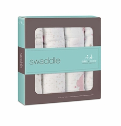 SOLD OUT Aden + Anais Classic Swaddles 4 Pack - Lovely